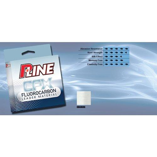P-LINE CFX 100% FLUOROCARBON CLEAR 50 M