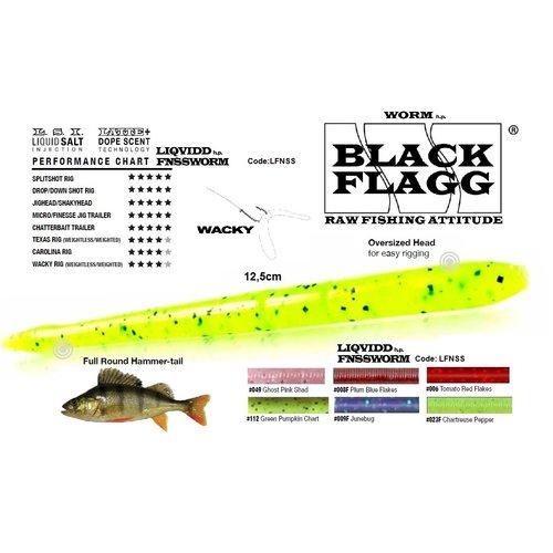 BLACK FLAGG LIQVIDD FNSS WORM 12.5 CM