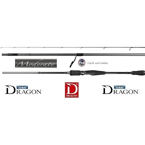 DRAGON MODERATE SPIN FAST ACTION 198 CM 7 > 21 GRAM