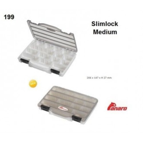 PANARO TACKLEBOX SLIMLOCK MEDIUM