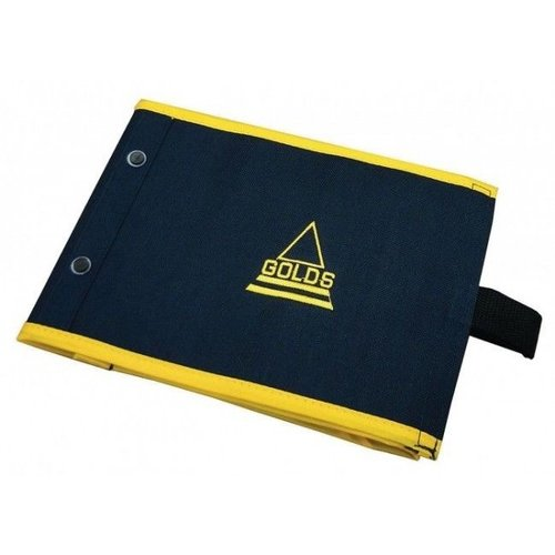 IAN GOLD'S TRACE WALLET SMALL 15 ZIPLOCKS BLUE/YELLOW