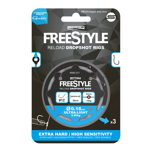FREESTYLE RELOAD DS RIG 0.26 MM #6 P/3