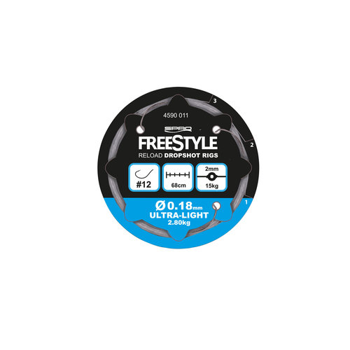 FREESTYLE RELOAD DS RIG 0.22 MM #8 P/3