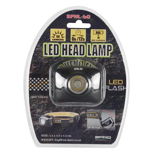 SPRO LED HEAD LAMP SPHL60 5.4 X 4.3 X 4.5 CM