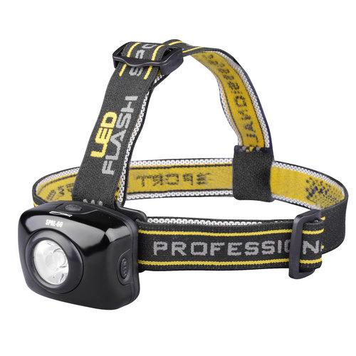 SPRO LED HEAD LAMP SPHL60 5.4 X 4.3 X 4.5 CM EXCLUSIEF 3X AAA BATTERIJ