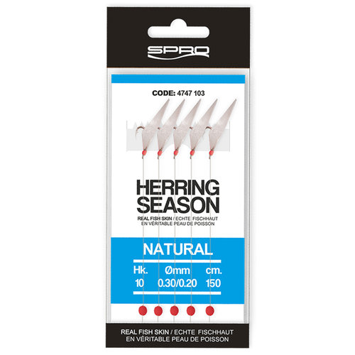SPRO HERRING RIG NATURAL 5X HOOK #8