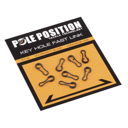 POLE POSITION BLACK KEYHOLE FAST LINK P/8