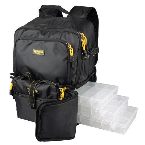SPRO BACK PACK 2 + 4 BOX + RIG WALLET