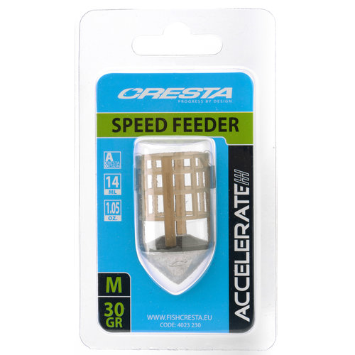CRESTA ACCELERATE SPEED FEEDER MEDIUM