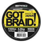 SPRO GOT BRAID! WEED GREEN P/MTR