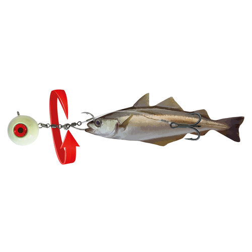 NORWAY EXPEDITION HALIBUT BAIT 360 RIG