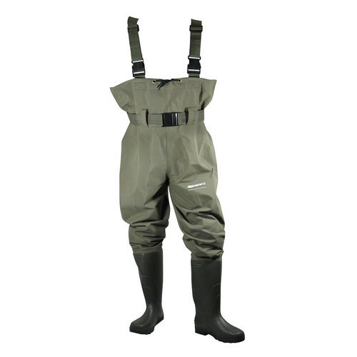 SPRO PVC CHEST WADERS SIZE