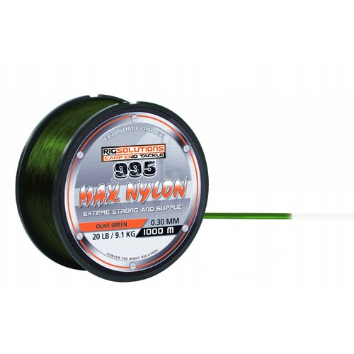 RIGSOLUTIONS 995 MAX NYLON OLIVE GREEN 1000 M