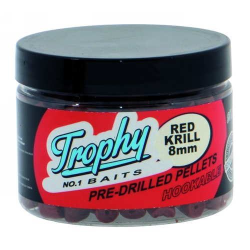 TROPHY NO.1 BAITS PRE-DRILLED PELLETS 8 MM