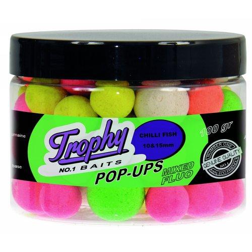 TROPHY NO.1 BAITS POP-UPS 10 & 15 MM 70 GRAM