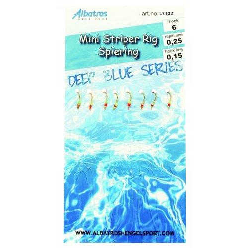 ALBATROS MINI STRIPER/SPIERINGRIG 8 HAAKS #12