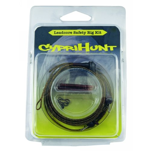 CYPRIHUNT LEADCORE SAFETY LEAD CLIP RIG KIT