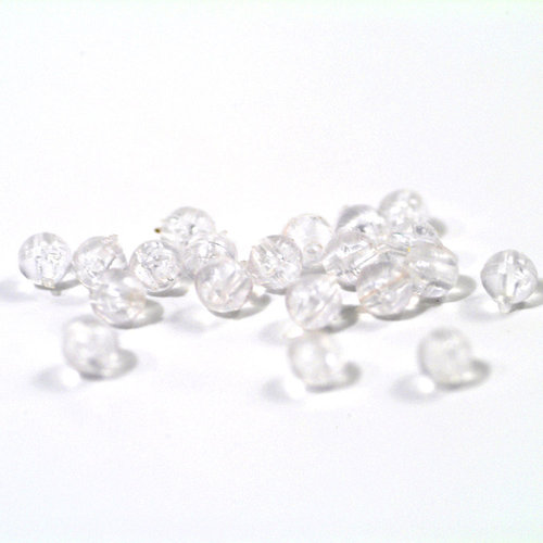 TRONIXPRO ROUND BEADS 5 MM CLEAR P/50