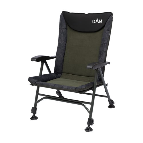 DAM CAMOVISION EASY FOLD CHAIR WITH ARM REST 130 KG