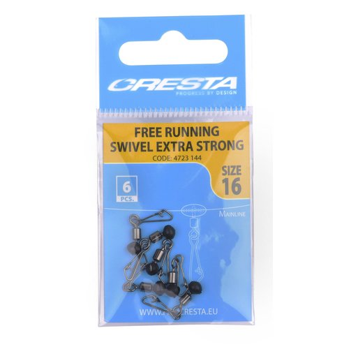 CRESTA FREE RUNNING SWIVELS EXTRA STRONG P/6