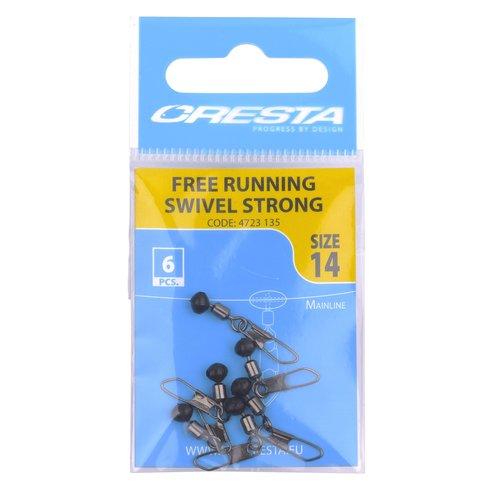 CRESTA FREE RUNNING SWIVELS STRONG P/6