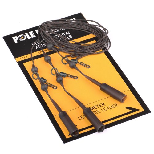 POLE POSITION HELI-CHOD ACTION PACK 45 LB WEED P/3