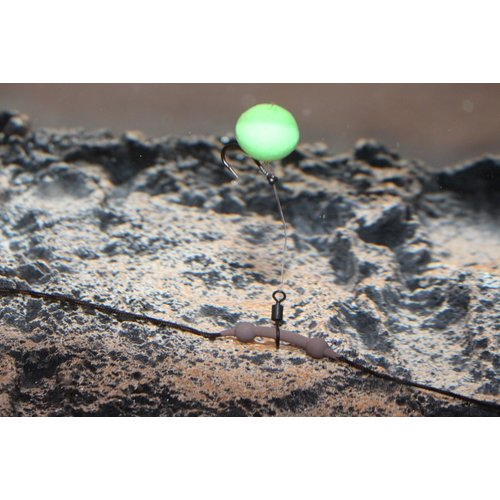 PB DOWNFORCE TUNGSTEN HELI-CHOD RUBBER & BEADS WEED P/3