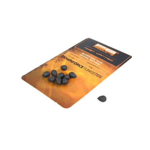 PB DOWNFORCE TUNGSTEN SHOT-ON THE HOOK BEADS P/15 -