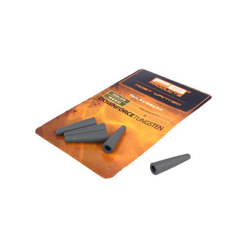 PB DOWNFORCE TUNGSTEN TAILRUBBERS WEED P/5