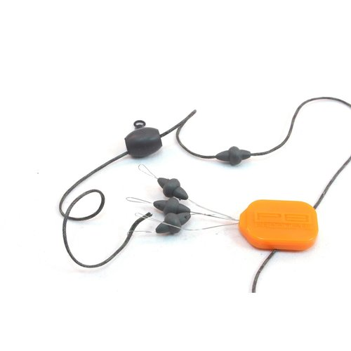 PB DOWNFORCE TUNGSTEN X-SMALL NAKED CHOD RUBBER & BEAD P/4