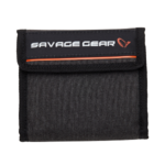 SAVAGE GEAR FLIP WALLET RIG AND LURE HOLDS 14 & 8 BAGS 14 x 14 CM