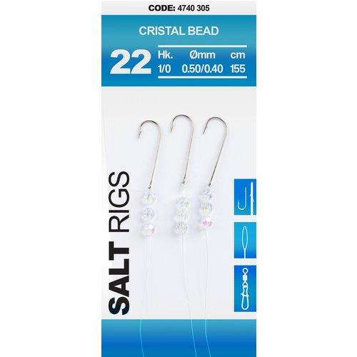 SPRO 22 SALT RIG CRISTAL BEAD 155 CM