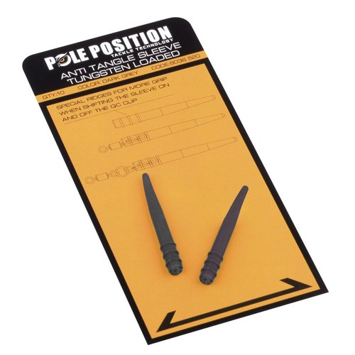 POLE POSITION ANTI TANGLE SLEEVE TUNGSTEN LOADED P/10