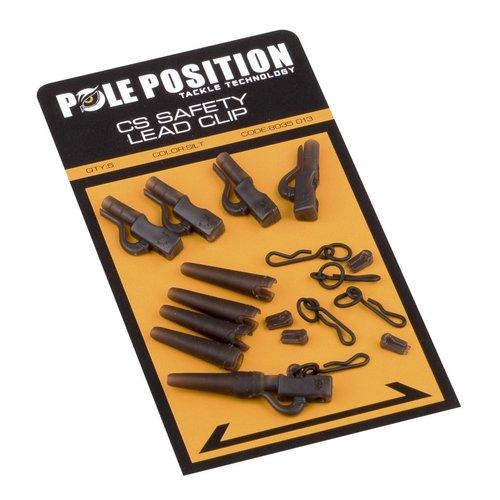 POLE POSITION CS SAFETY LEAD CLIP SET P/5