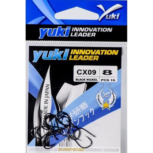 YUKI HOOKS BLACK NICKEL CX09