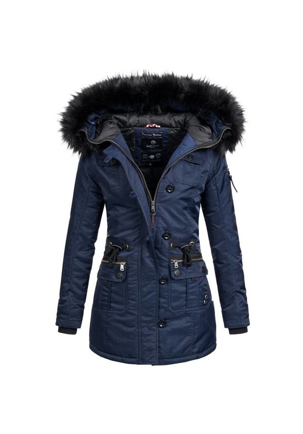Winterjas Donkerblauw Dames.Marikoo Elle Warm Dames Winter Jas Coat Parka Winterjas Rose Mashka