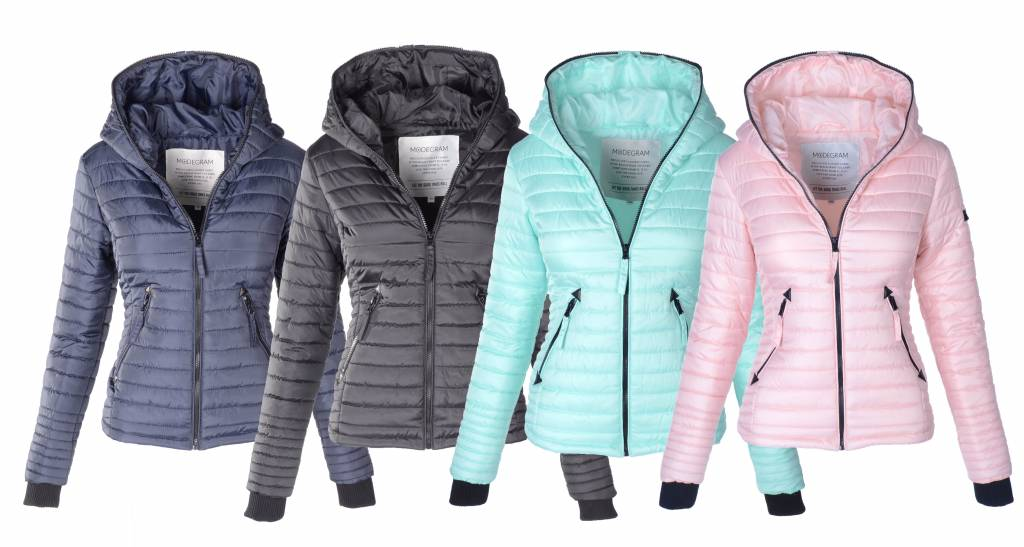 Winterjas Sportief Dames.Modegram Gewatteerde Jas Voor Dames Comfortabel En Trendy Mashka