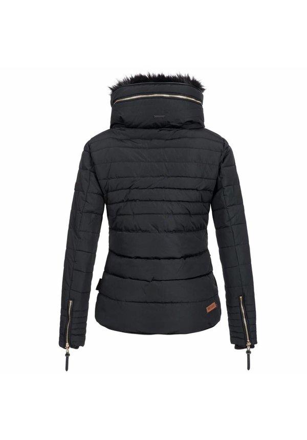 Modegram gesteppte Damenjacke schwarz