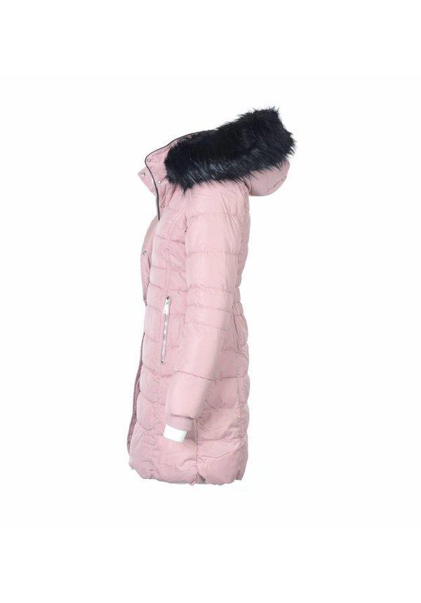 Modegram Damen gesteppte Jacke Parka rosa