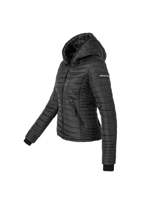 Modegram dames gewatteerde jas zwart