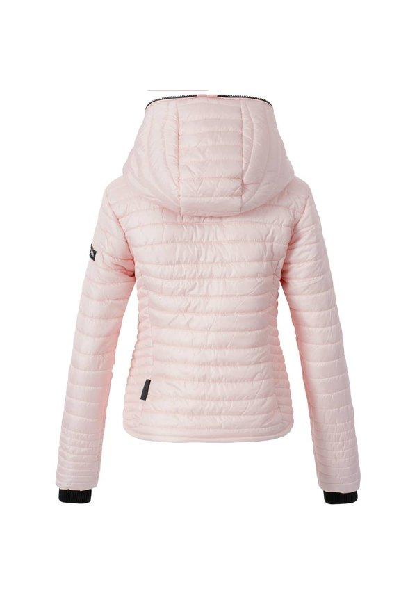Modegram Damen gesteppte Jacke rosa