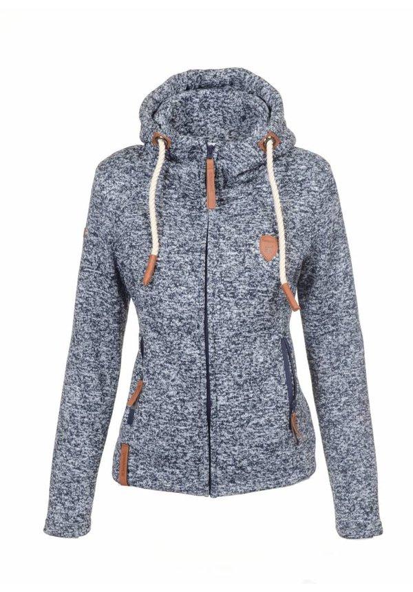 Be Cool dames vest met capuchon