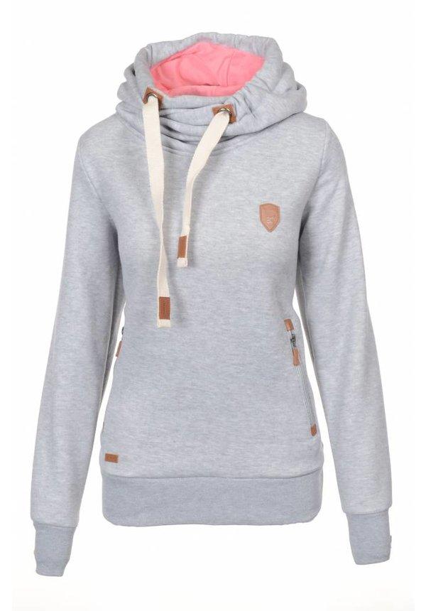 Be cool dames trui / hoodie grijs