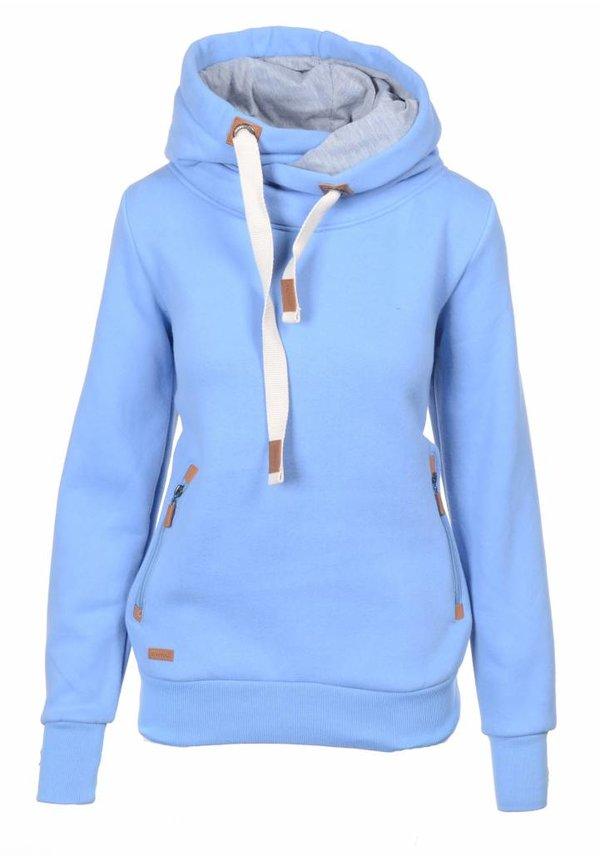 Be cool dames trui / hoodie blauw