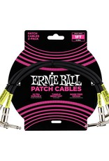 Ernie Ball Ernie Ball Classic cable black patch 30cm 3-pack