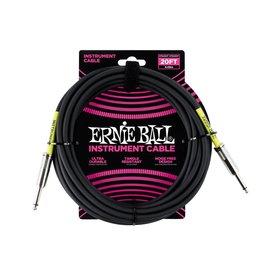 Ernie Ball Ernie Ball Classic cable black s/s 6m