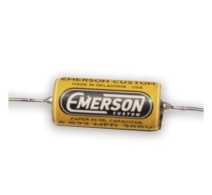 Emerson Paper in oil capacitor 0.022uf