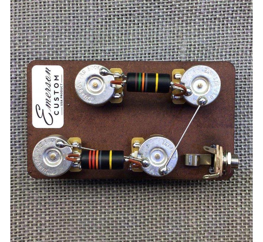Emerson Les Paul prewired kit
