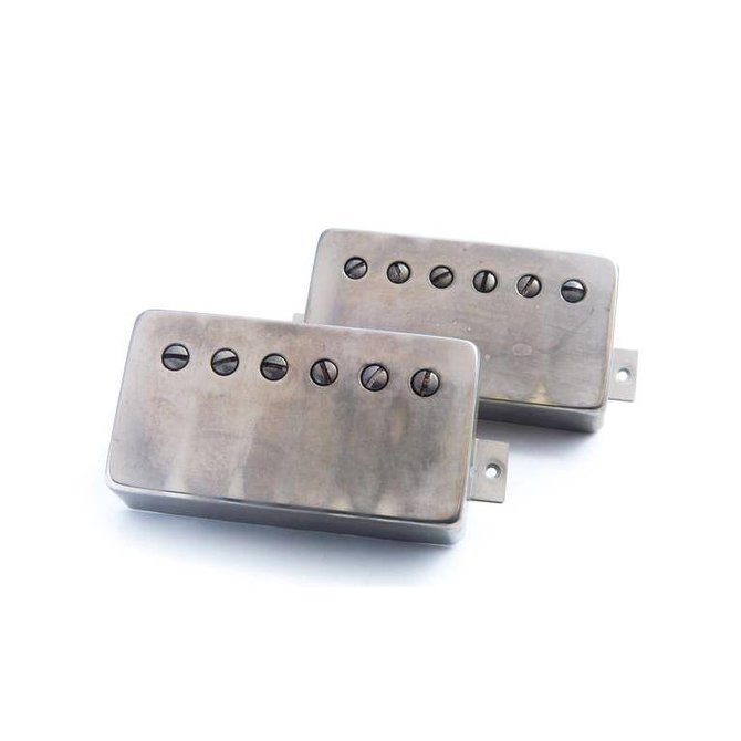 Bare Knuckle Pickups Black Dog aged nickel set