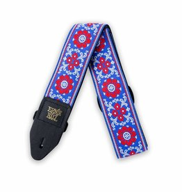 Ernie Ball Ernie Ball classic Jacquard strap morning blossom